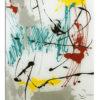 plateau en verre art