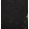 plateau en verre noir