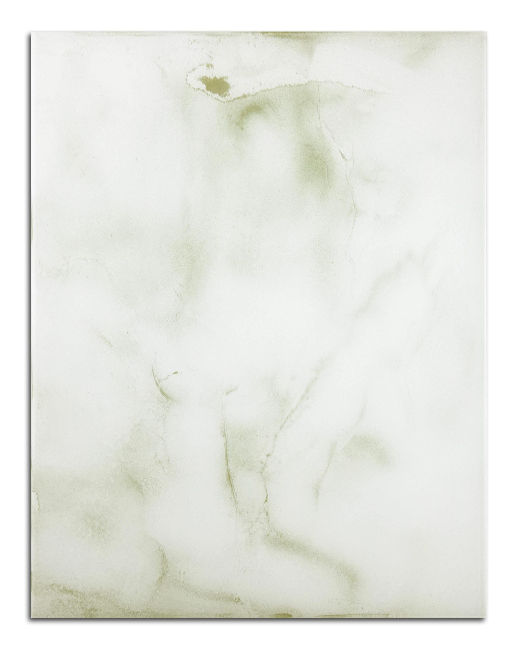 plateau en verre marbre