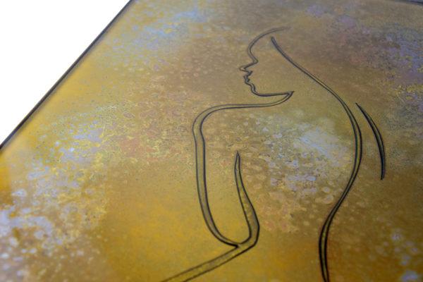 tableau en verre