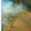 tableau carré en verre, détail, Apogée
